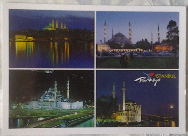 Cartes postales Turquie (Istanbul) Sans-t12