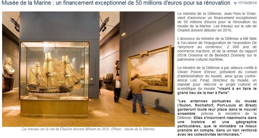 [Les musées en rapport avec la marine] Informations du Musée de la Marine - Page 2 Musye10