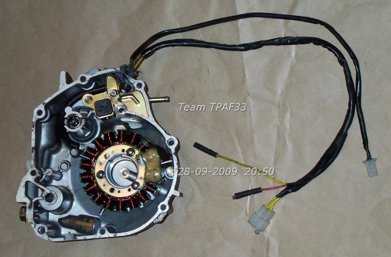schema electrique dazon 250 Carter11