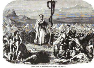 1) Jésus est-il vraiment mort sur une croix? Bible_13