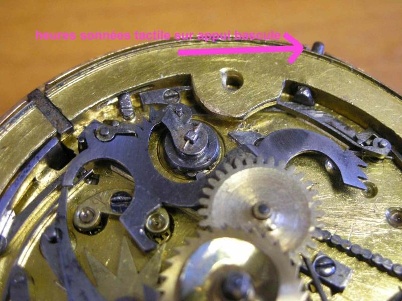 cloche - Restauration complète d'une montre à sonnerie sur cloche en images  Cadrat10