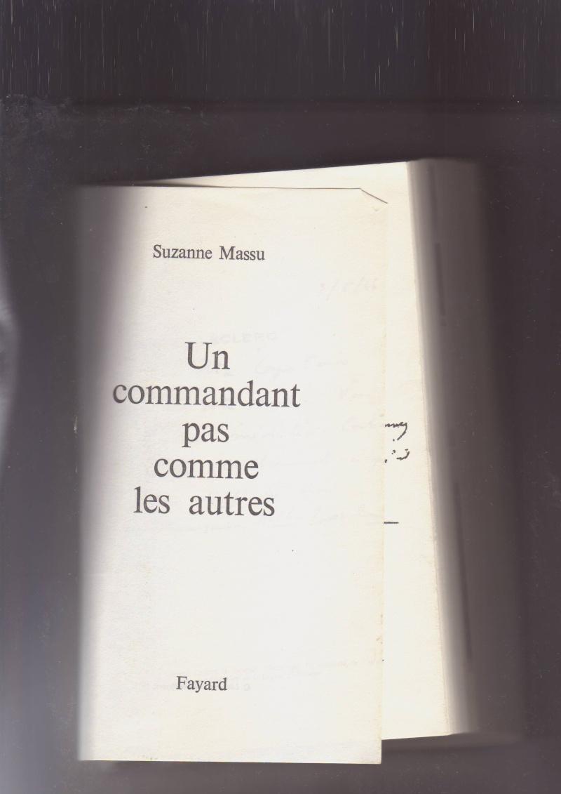 """- Suzanne MASSU """" Un Commandant pas comme les autres """" _mes_i12"""