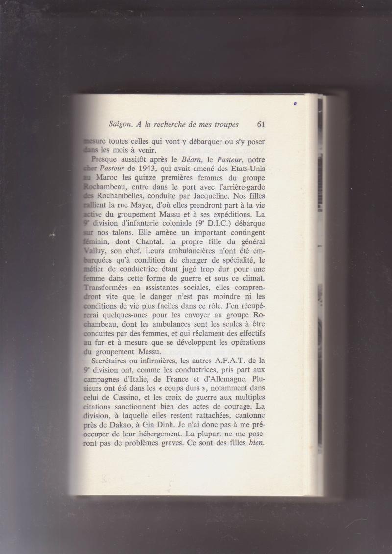 """- Suzanne MASSU """" Un Commandant pas comme les autres """" _mes_i17"""