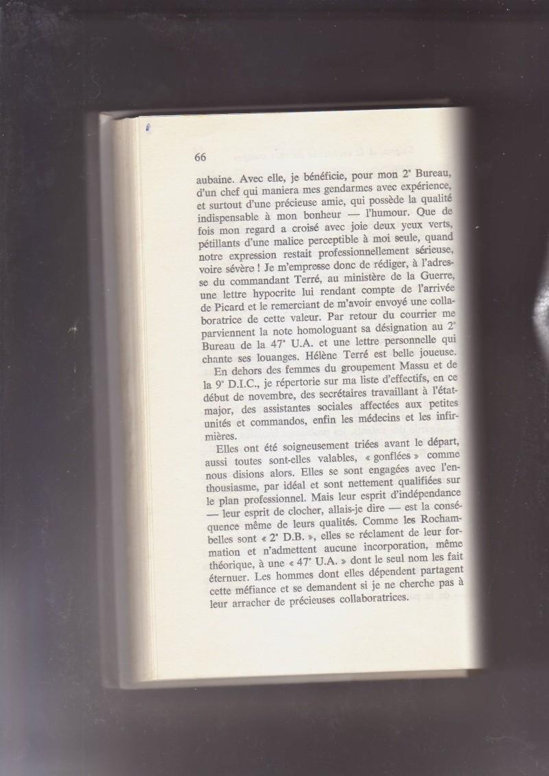 """- Suzanne MASSU """" Un Commandant pas comme les autres """" _mes_i22"""