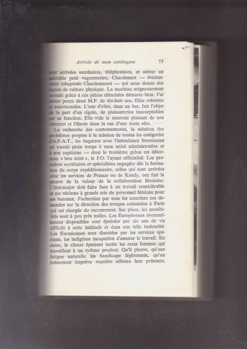 """- Suzanne MASSU """" Un Commandant pas comme les autres """" _mes_i33"""