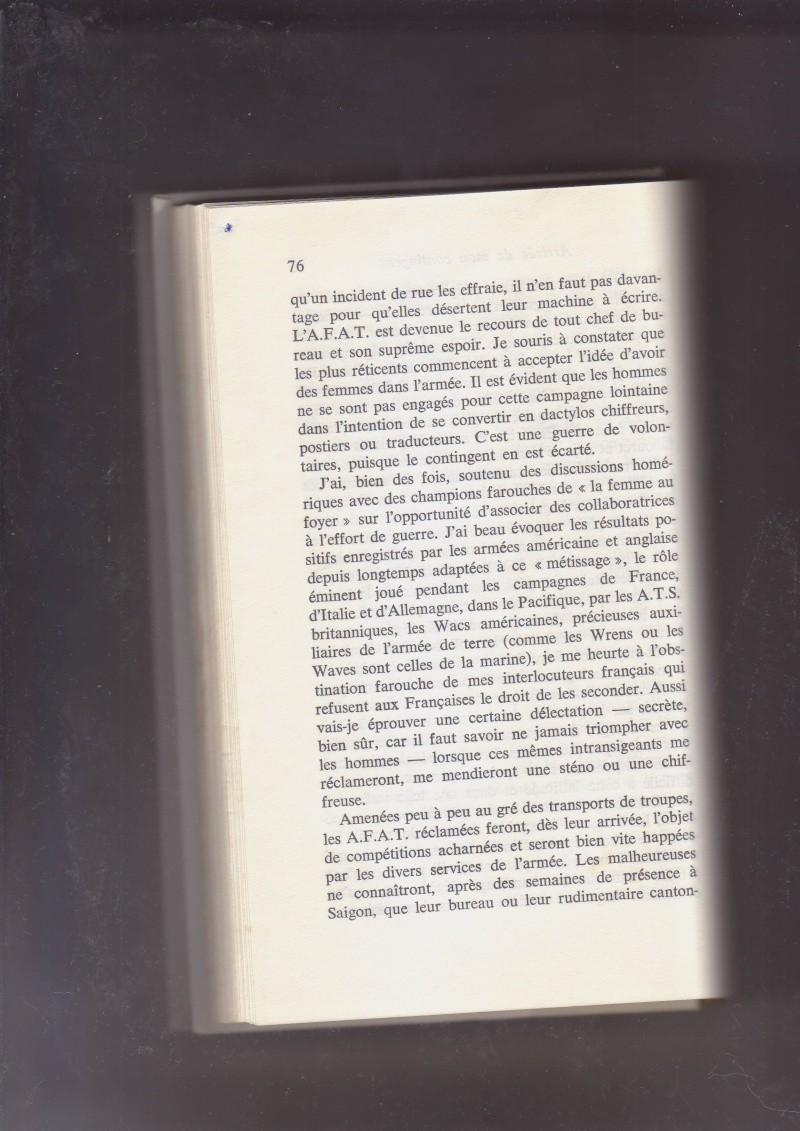 """- Suzanne MASSU """" Un Commandant pas comme les autres """" _mes_i34"""