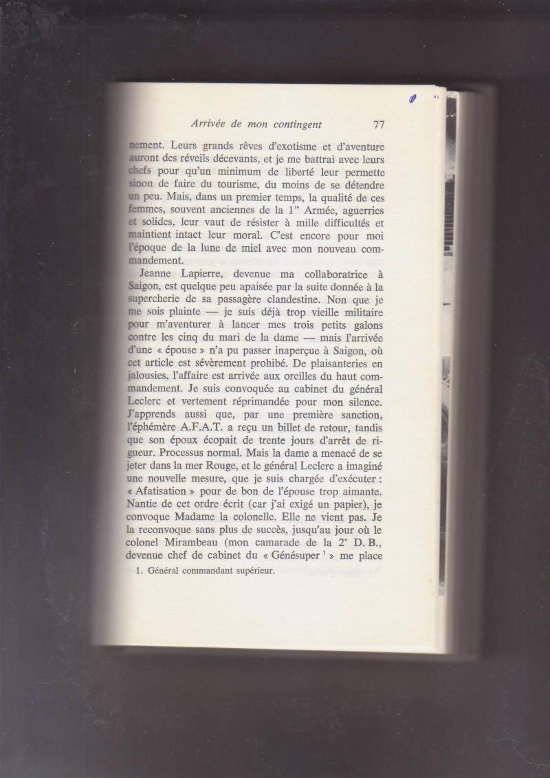 """- Suzanne MASSU """" Un Commandant pas comme les autres """" _mes_i35"""