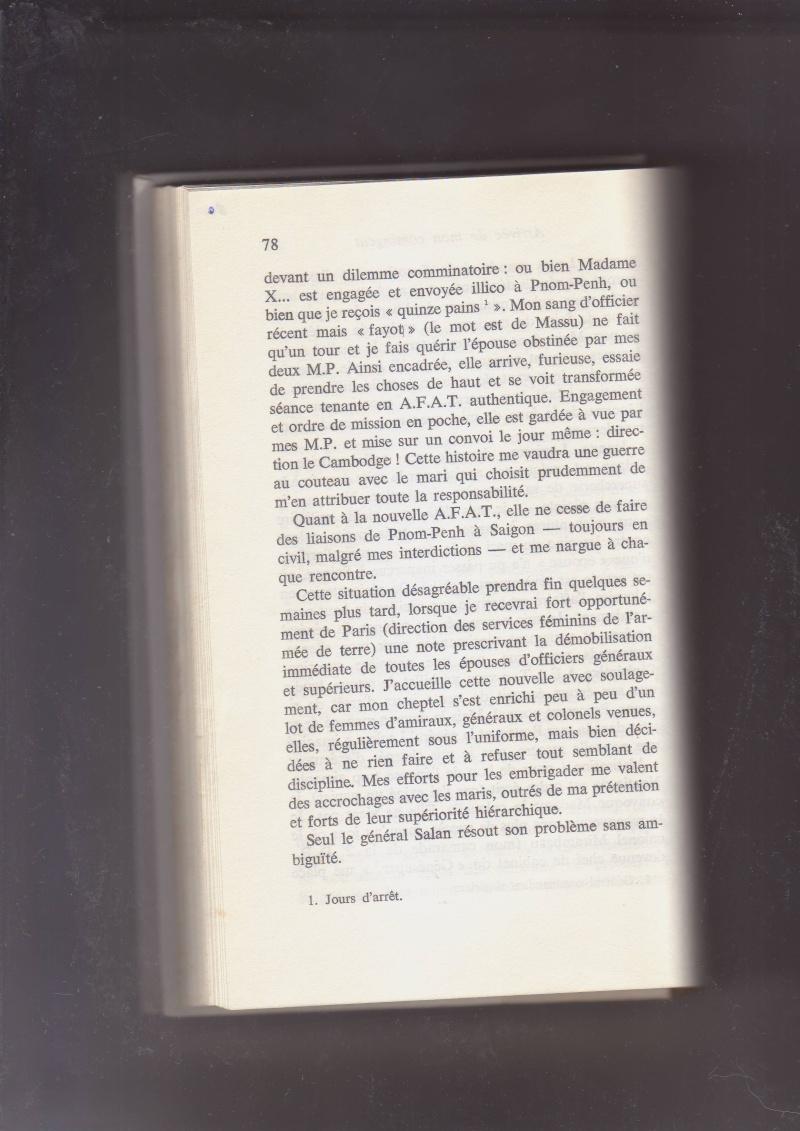 """- Suzanne MASSU """" Un Commandant pas comme les autres """" _mes_i36"""