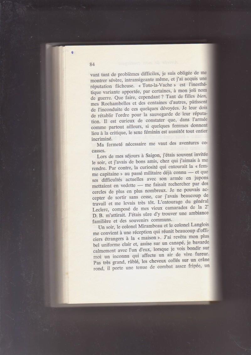 """- Suzanne MASSU """" Un Commandant pas comme les autres """" _mes_i42"""