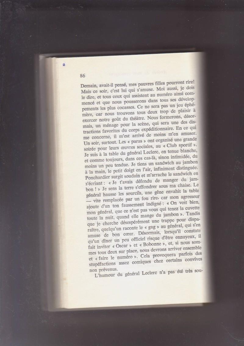 """- Suzanne MASSU """" Un Commandant pas comme les autres """" _mes_i44"""