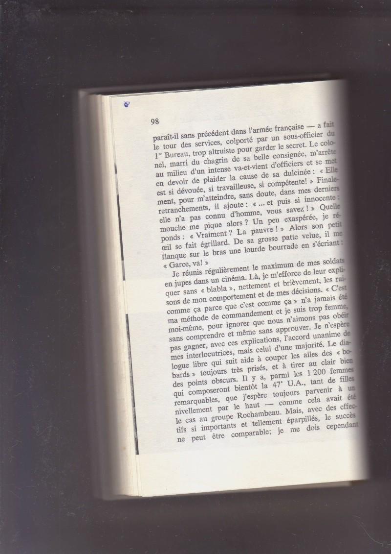 """- Suzanne MASSU """" Un Commandant pas comme les autres """" _mes_i56"""