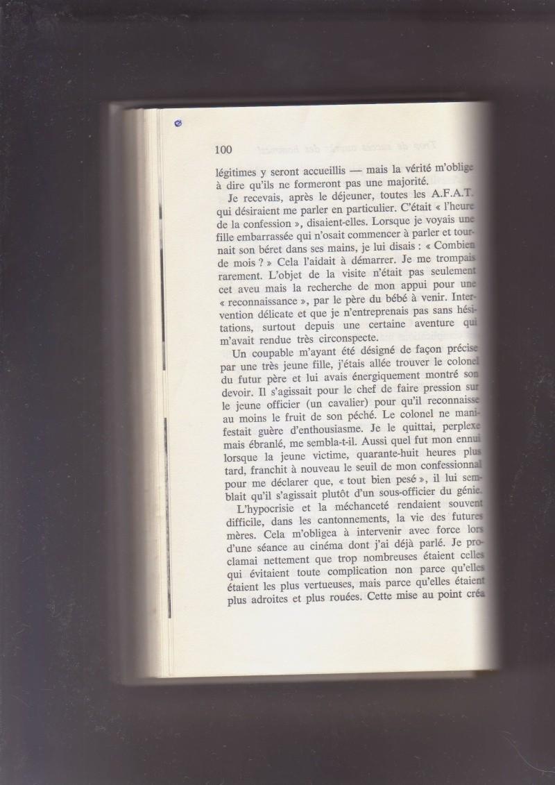 """- Suzanne MASSU """" Un Commandant pas comme les autres """" _mes_i58"""