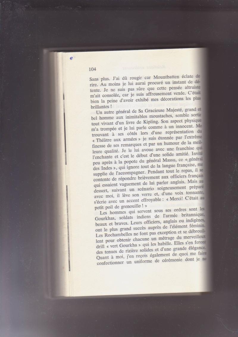 """- Suzanne MASSU """" Un Commandant pas comme les autres """" _mes_i62"""