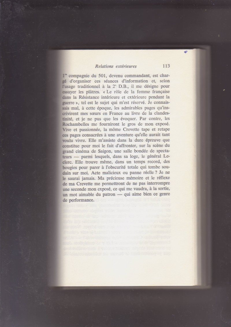"""- Suzanne MASSU """" Un Commandant pas comme les autres """" _mes_i71"""
