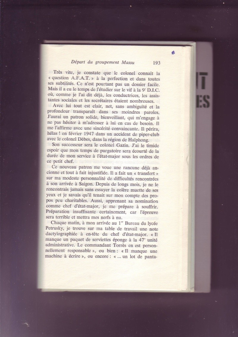 """- Suzanne MASSU """" Un Commandant pas comme les autres """" - Page 2 Image262"""