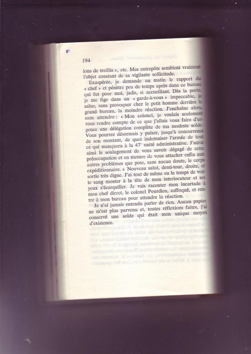 """- Suzanne MASSU """" Un Commandant pas comme les autres """" - Page 2 Image264"""