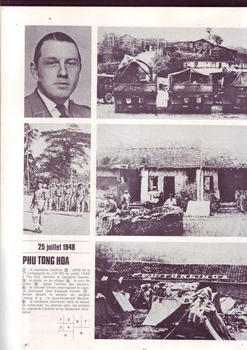 - PHU TONG HOA - Indochine, résistance farouhe légionnaires du 3 éme REI, les Viets ne sont pa parvenus à prendre e post Image529