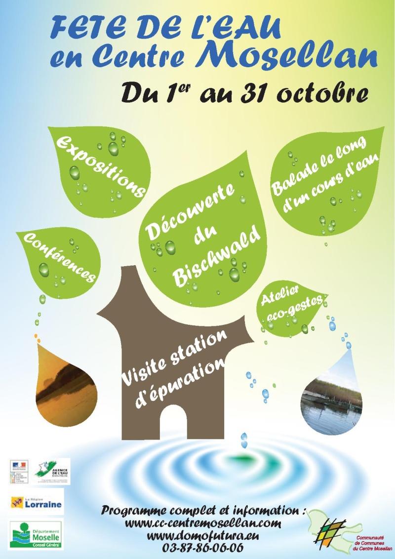 Fête de l'eau avec la communauté de communes à MORHANGE Affich11