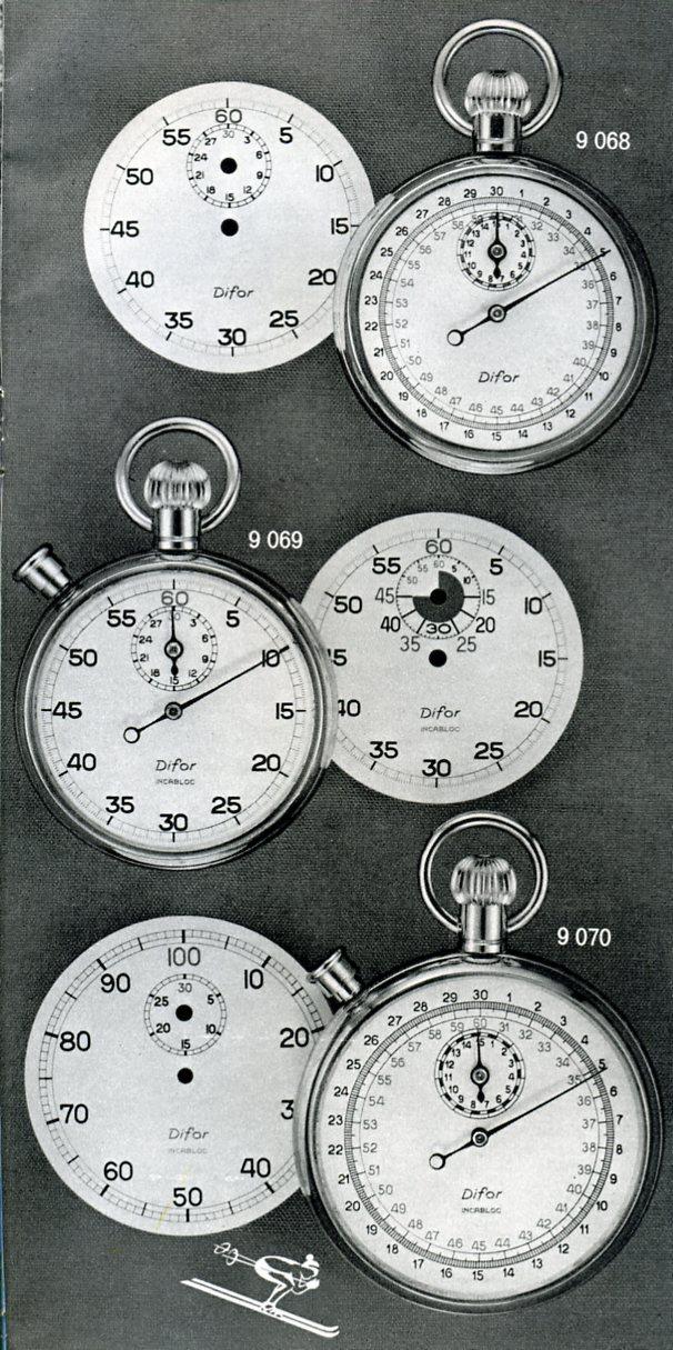 sport - Chronomètres ou chronographes d'arbitre ! Difor_10
