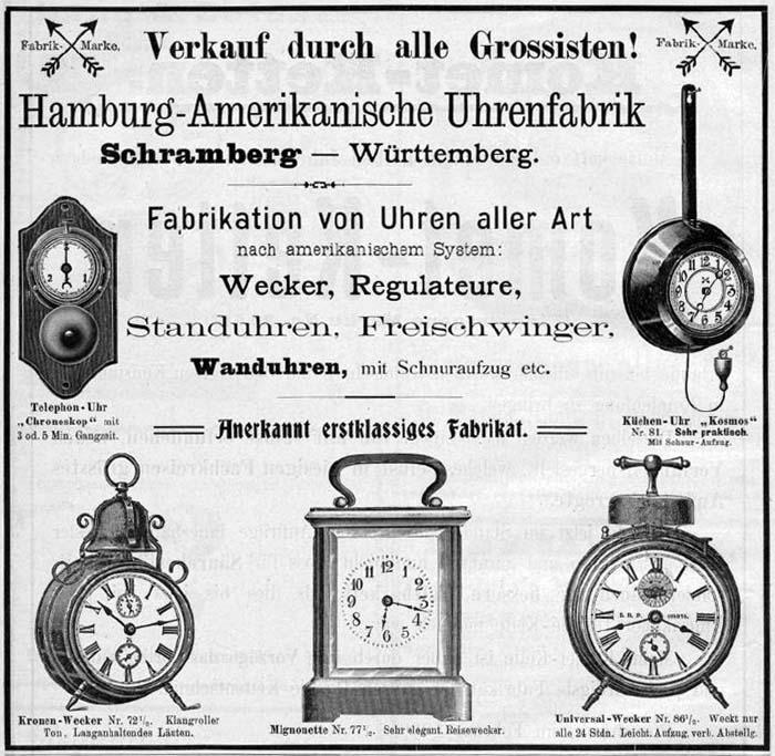 Un post qui référence les montres de brocante... tome III - Page 11 Hau_1911