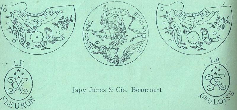 Un post qui référence les montres de brocante... tome III - Page 11 Japy_f10