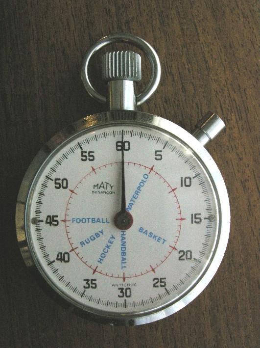 sport - Chronomètres ou chronographes d'arbitre ! Maty10