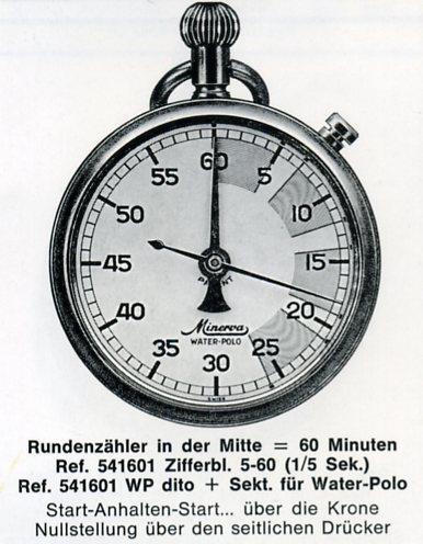 sport - Chronomètres ou chronographes d'arbitre ! Minerv12