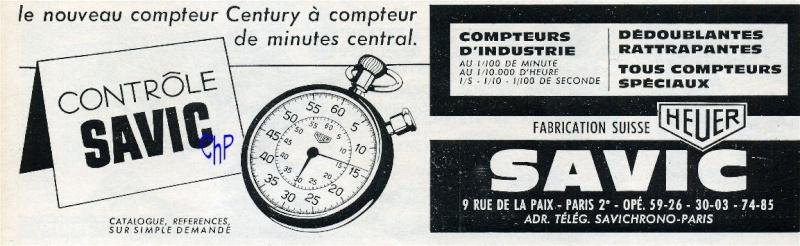 sport - Chronomètres ou chronographes d'arbitre ! Savic_10