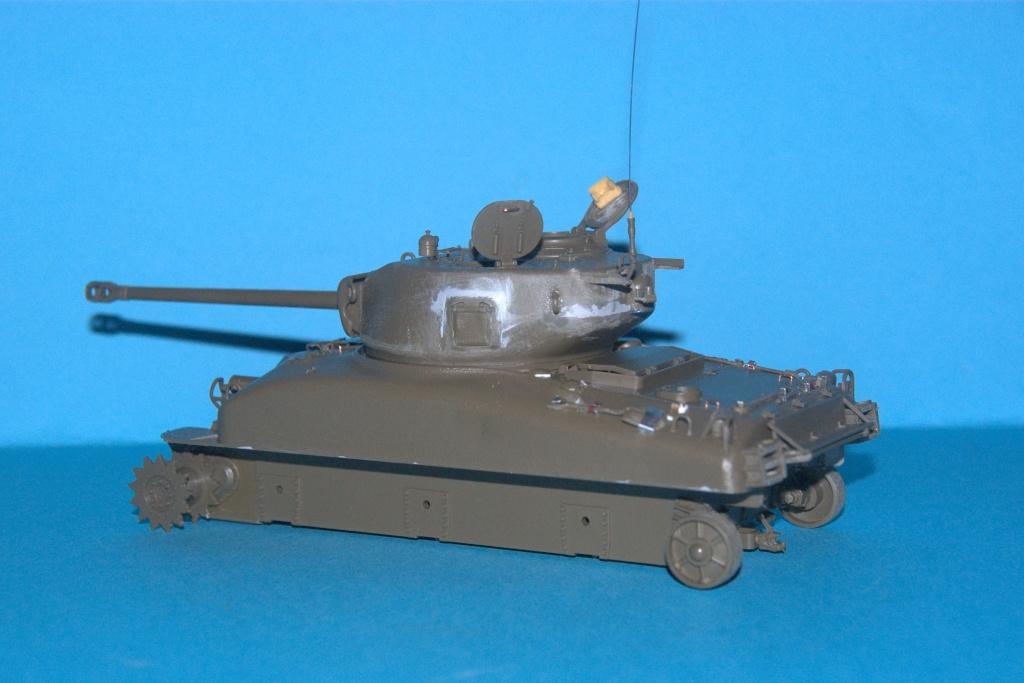 Sherman - Sherman M4 A1 1:35 Tamiya Imgp6511