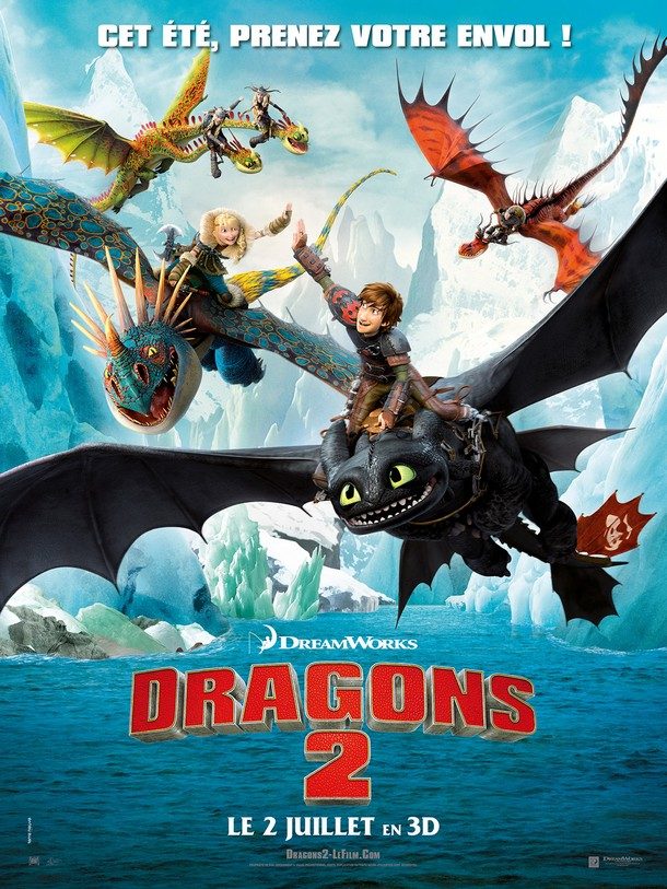HOW TO TRAIN YOUR DRAGON 2 - Dreamworks - Juin 2014 -  Dragon10
