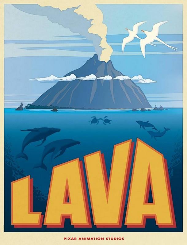 COM BACK SHORT PIXAR Lava-a10