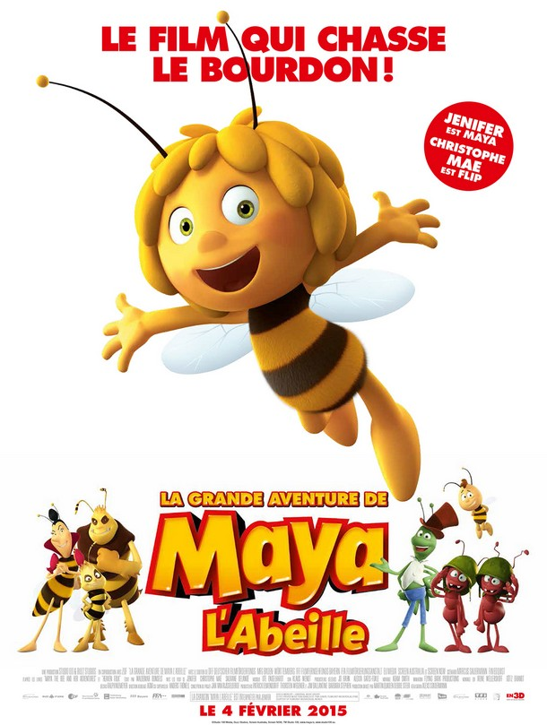 MAYA THE BEE : MOVIE - Flying Bark - 18 septembre 2014 Mayabe10
