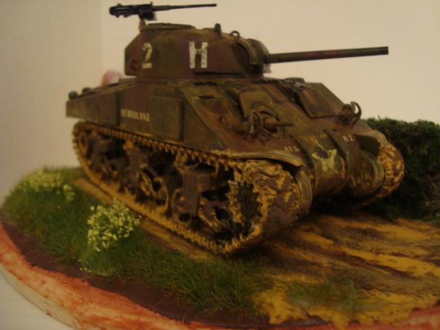 Sherman - M4 sherman Tamiya au 1/48 Dsc05610