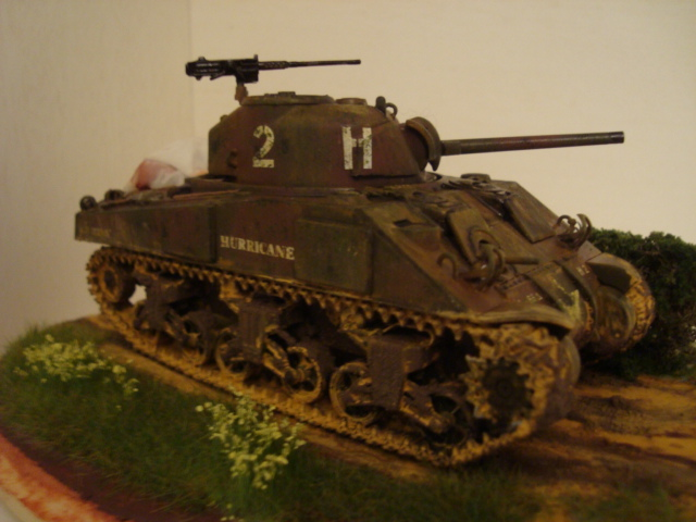 Sherman - M4 sherman Tamiya au 1/48 Dsc05616