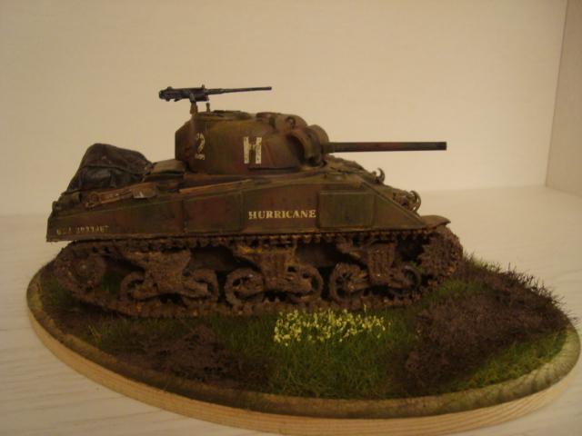 Sherman - M4 sherman Tamiya au 1/48 Dsc05629