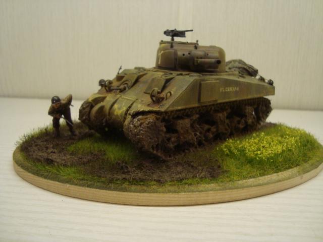 Sherman - M4 sherman Tamiya au 1/48 Dsc05633