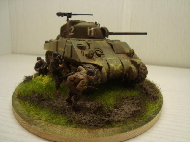 Sherman - M4 sherman Tamiya au 1/48 Dsc05635