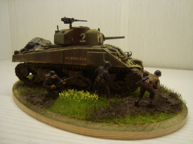 Sherman - M4 sherman Tamiya au 1/48 Dsc05636
