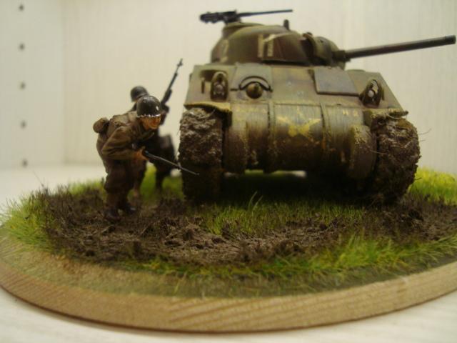 Sherman - M4 sherman Tamiya au 1/48 Dsc05637