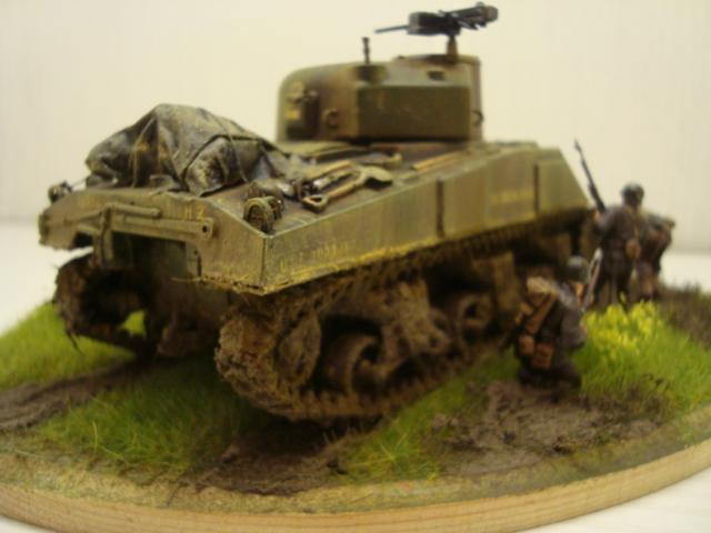 Sherman - M4 sherman Tamiya au 1/48 Dsc05638