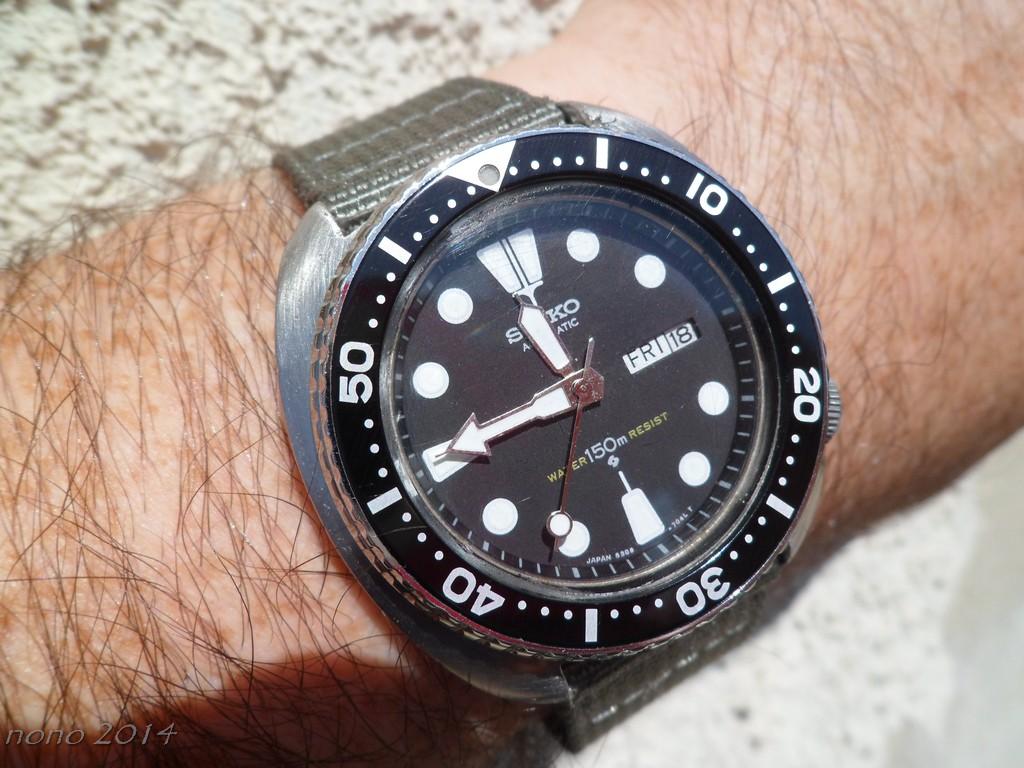La montre du vendredi 18 juillet  2014 Seiko610