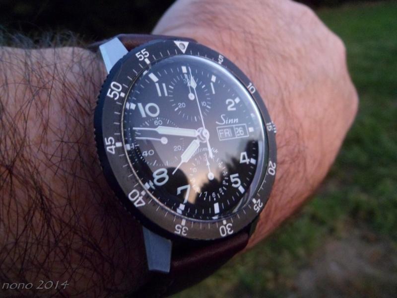 La montre du vendredi 26 septembre Sinn7810