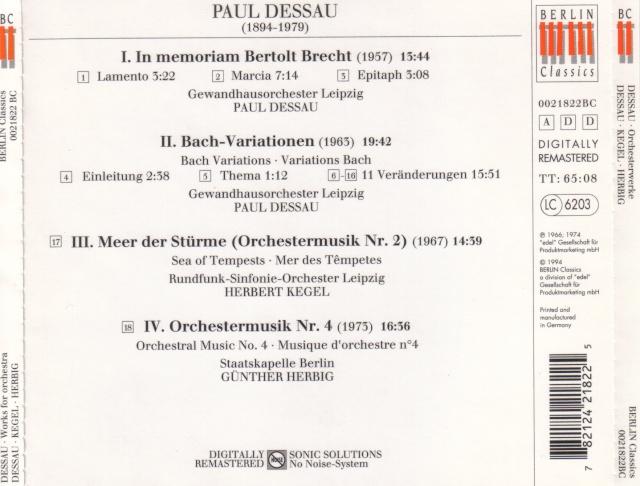 Paul Dessau (1894-1979) Back11