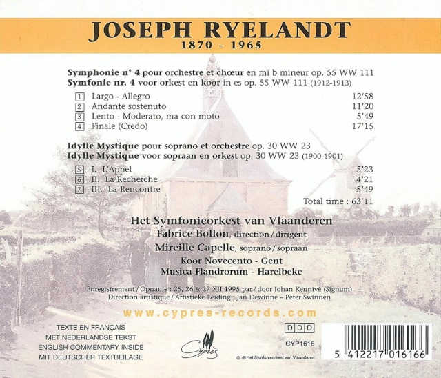 Joseph Ryelandt (1870-1965) Back13