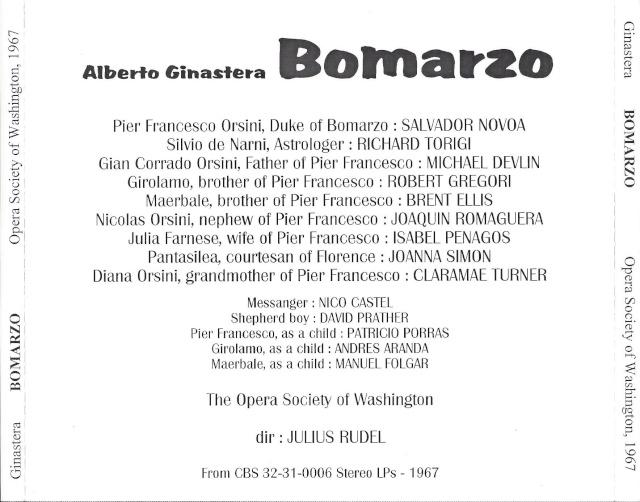 Alberto Ginastera (1916-1983) Back24
