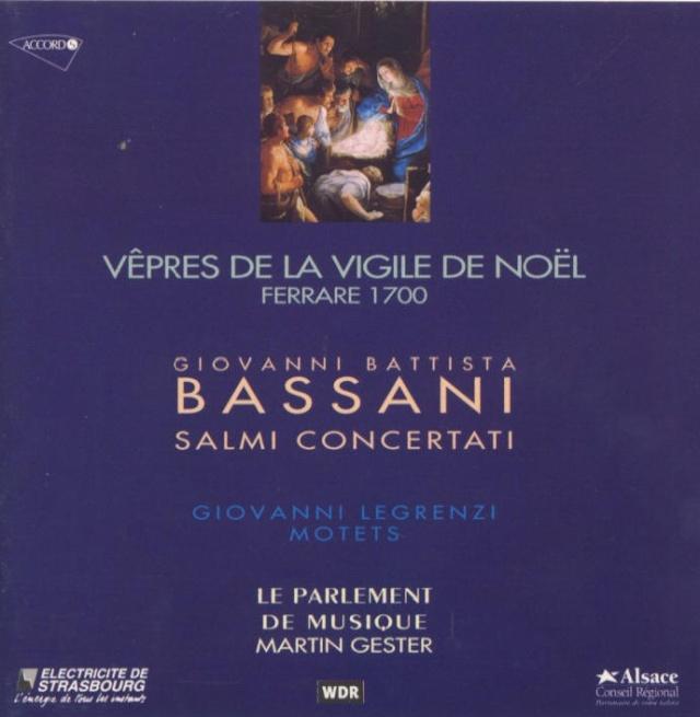 Giovanni Battista Bassani (1647-1716) Cover42