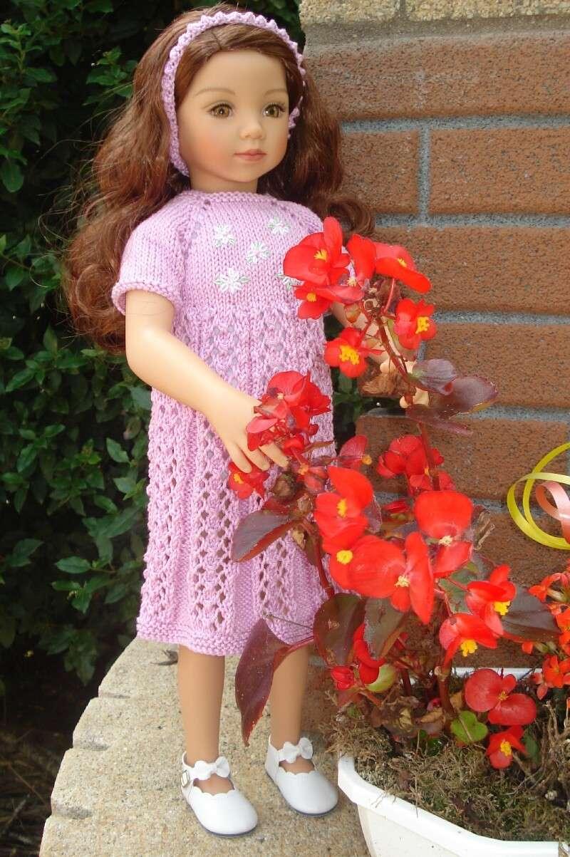 Sa première robe.......... Dsc00110
