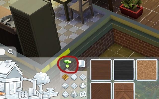 Construction : Mettre un sol mais pas dans toute la pièce. Pour_n10