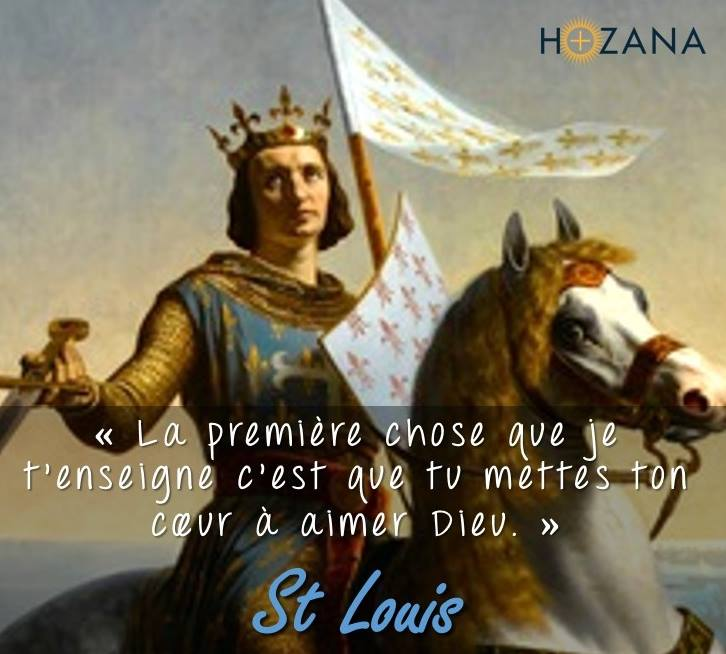 25 août fête de saint Louis : son testament spirituel : Saint_11