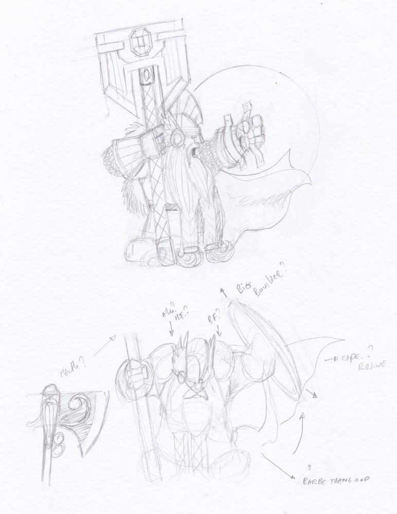 [Projets/Atelier] Clan Main de fer (de Karaz Rhun) - Page 15 Croqui10